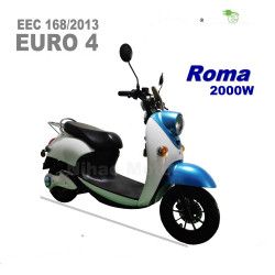 Electric-scooter-2000W-EEC-EURO4-lithium-removable